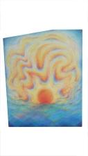 Morning sun 2016 Acrylic on canvas 23.5 x 16 inches
