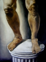 After a struggle 18 x 24 inches Oil on canvas 2006